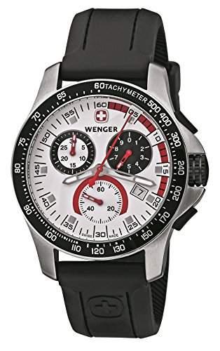 Wenger Herren-Armbanduhr Analog Quarz Kautschuk 70791
