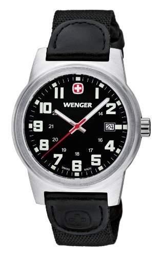 Wenger Herren-Armbanduhr XL Field Classic Analog Quarz Nylon 72805W