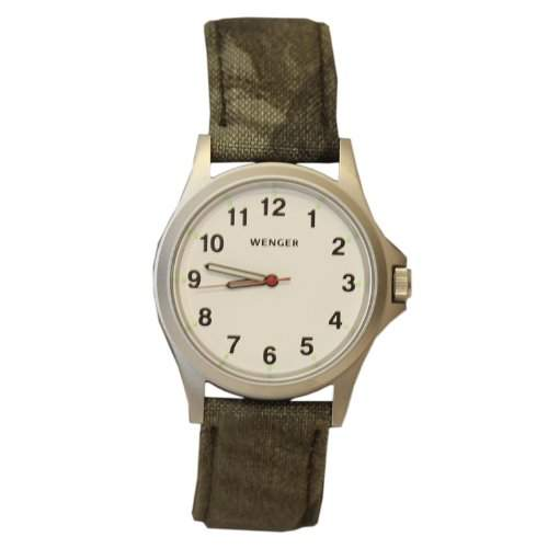 Wenger Swiss Military Mens Camo Strap Watch 79115CW