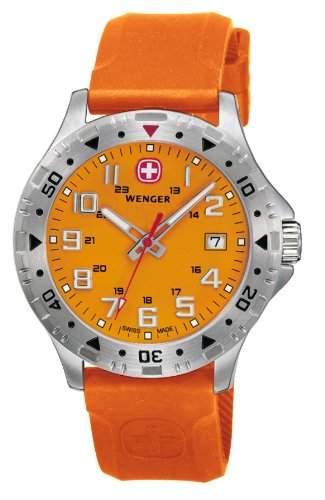 Wenger Herren-Armbanduhr Analog Quarz Leder Offroad 79303