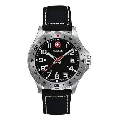 Wenger Herren-Armbanduhr Offroad 3-Zeiger 79305