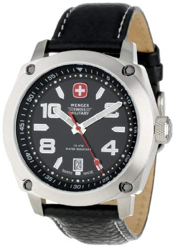 Outback Black Dial Mens Watch
