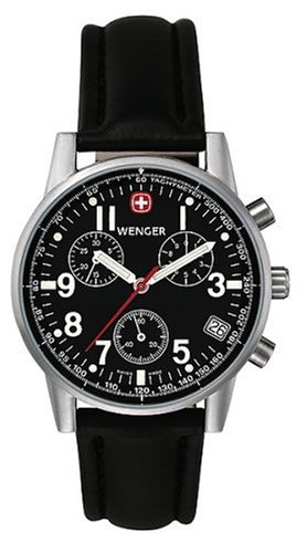 Wenger Herrenarmbanduhr Commando Chrono 70825