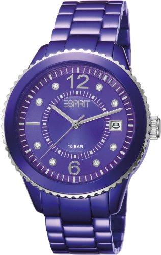 Esprit Marin Aluminium violet Analog Quarz Aluminium ES105812004