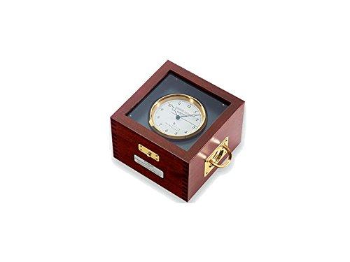 Wempe Marine Quarz Chronometer Aluminium schwarz Mahagoni