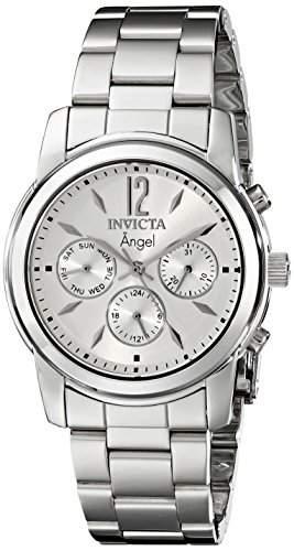 Invicta Damen 0461 Engel Kollektion Uhr aus Edelstahl