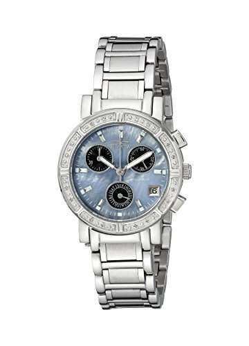 Invicta Damen-Armbanduhr XS Chronograph Quarz Edelstahl 0610