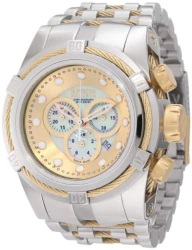 Invicta Herren-Armbanduhr XL Reserve Chronograph Edelstahl 0822