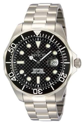 Invicta Herren-Armbanduhr Pro Diver Chronograph Quarz Edelstahl 12562