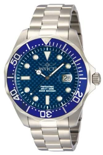 Invicta Herren-Armbanduhr XL Invicta Pro Diver Analog Quarz Edelstahl 12563