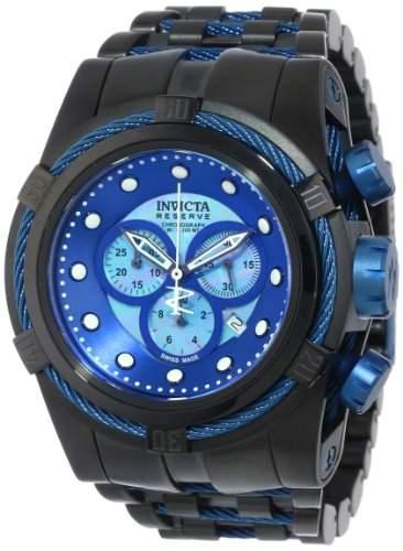 Invicta Herren-Armbanduhr Bolt Chronograph Quarz Edelstahl 12735