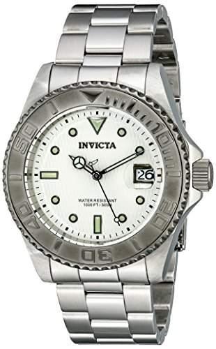 Invicta Unisex-Armbanduhr Invicta Pro Diver Analog automatik edelstahl silber 12838