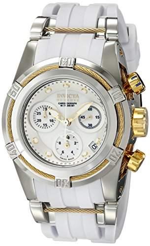 Invicta Damen-Armbanduhr Bolt Chronograph Quarz Edelstahl beschichtet 15279