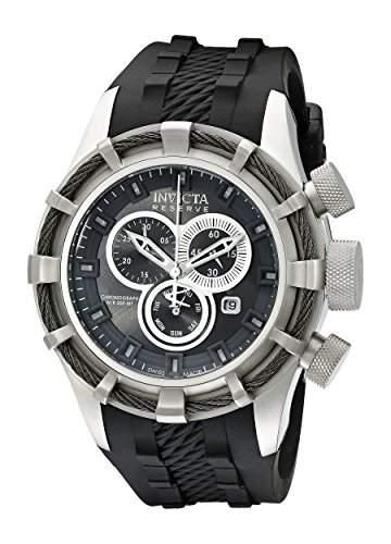 Invicta Herren-Armbanduhr Bolt Chronograph Quarz Silikon 15783