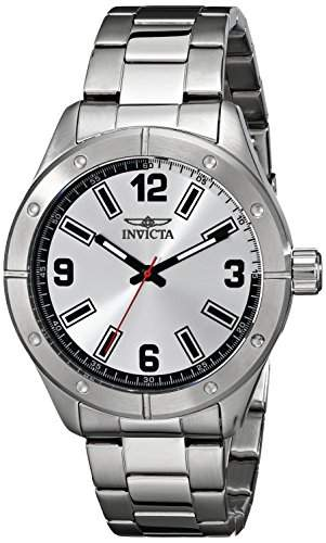 Invicta Herren-Armbanduhr XL Specialty Analog Quarz Edelstahl 17925