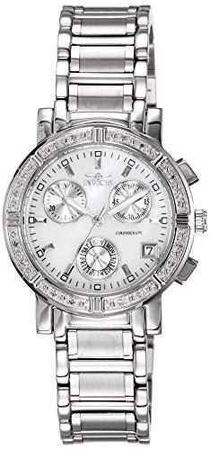 Invicta Damen-Armbanduhr XS Chronograph Quarz Edelstahl 4718