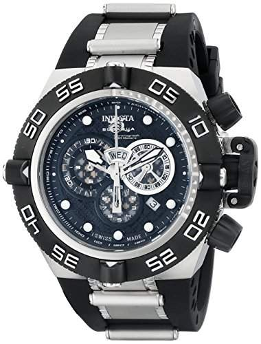 Invicta Herren-Armbanduhr XL Invicta Subaqua Chronograph Kautschuk 6564