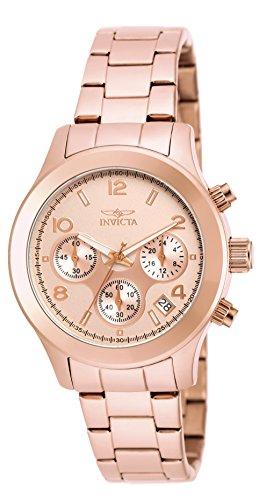 INVICTA Angel Damen Armbanduhr Analog Edelstahl beschichtet 19218