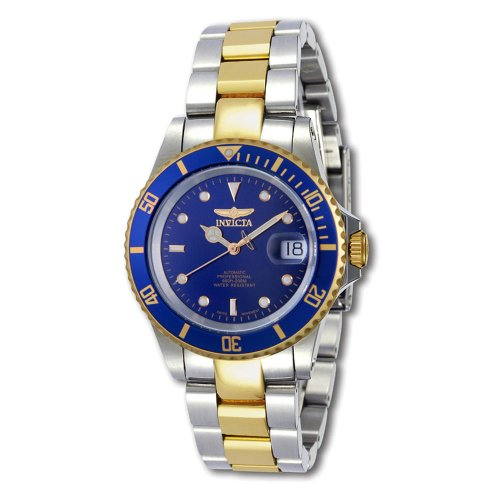 INVICTA PRO DIVER AUTOMATIC MENS STAINLESS STEEL CASE DATE UHR 9938OB