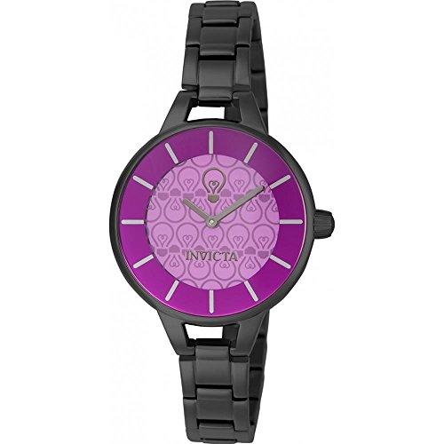 Invicta Gabrielle Union Damen Armbanduhr Armband Edelstahl Aluminium Gehaeuse Quarz Analog 22965
