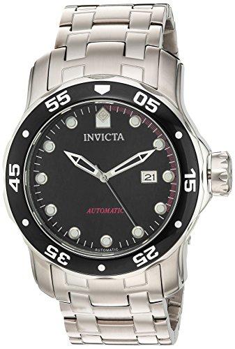 Invicta Pro Diver Herren Armbanduhr 48mm Armband Edelstahl Gehaeuse Automatik Zifferblatt Schwarz 23630