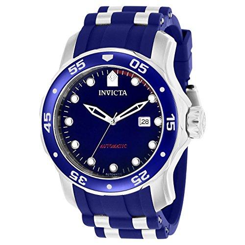 Invicta Pro Diver 48mm Armband Kunststoff Multicolor Gehaeuse Edelstahl Automatik 23627