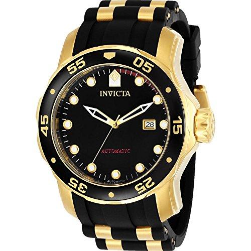 Invicta Pro Diver 48mm Armband Kunststoff Multicolor Gehaeuse Edelstahl Automatik 23628