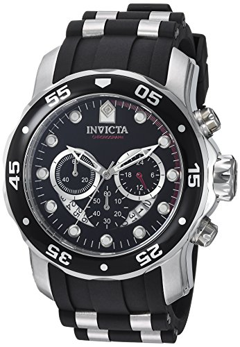Invicta Chronograph Quarz mit Kautschukarmband 6977