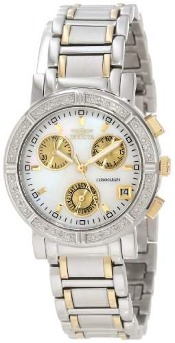 Invicta Damen-Armbanduhr XS Chronograph Quarz Edelstahl 4719