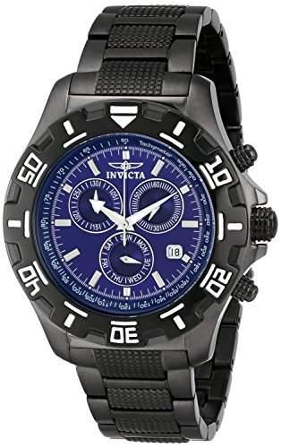 Invicta Herren-Armbanduhr Specialty Chronograph Quarz Edelstahl beschichtet 6411