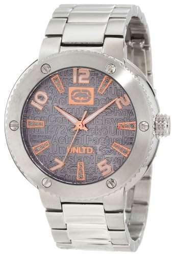 Marc Ecko The Cool fuer Maenner -Armbanduhr Analog Quartz E12582G3