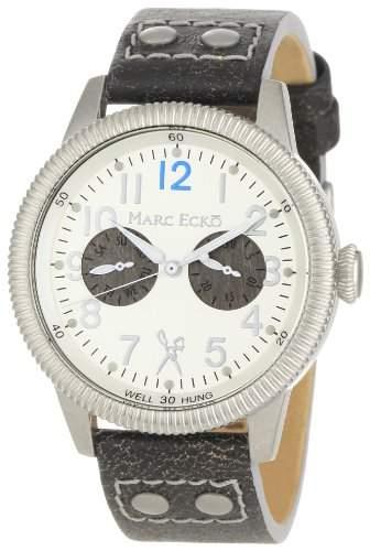 Marc Ecko Herren E13513G1 Die Recon Silver Dial Black Canvas Armbanduhr