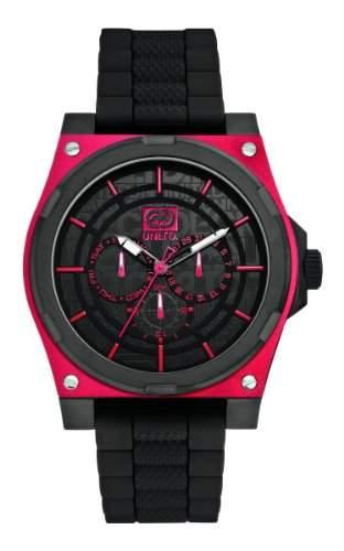 Marc Ecko Herren-Armbanduhr The Erx Analog Quarz Silikon E13558G2