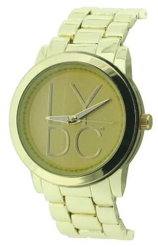Lydc Women- Armbanduhr Analog Quarz Gold Armband LYDC50D