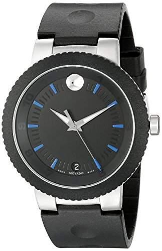 Movado Herren-Armbanduhr Batterie Datum Analog 0606927