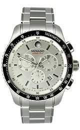 Movado Herren-Armbanduhr Analog edelstahl Silber 2600095
