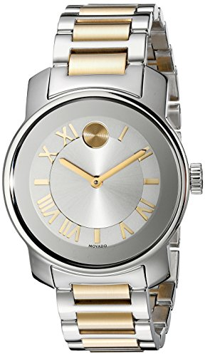 Movado Damen 32mm Multi Color delstahl Armband Gehaeuse Uhr 3600245