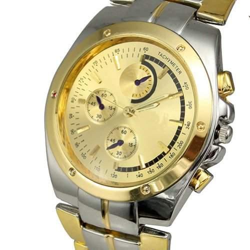 Bei wang Herren-Armbanduhr analog edelstahl BWUBGUK