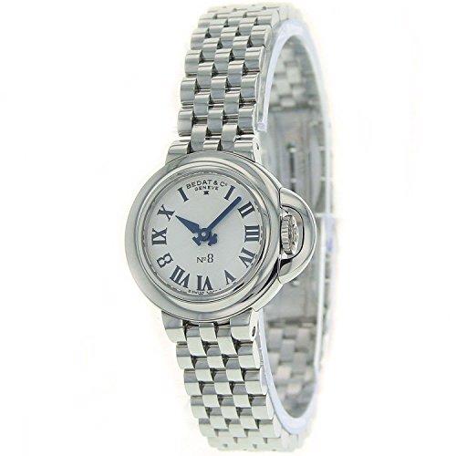 Bedat Bedat NR 8 Silber Zifferblatt Edelstahl Stahl Damen Watch 827 011 600