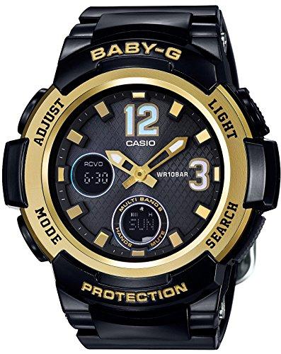 CASIO Ein Armbanduhr Tourist Radio des BABYS G das entsprechend 6 Welten BGA 2100 1BJF Damen Sonnen ist