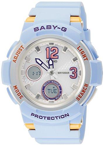 CASIO Ein Armbanduhr Tourist Radio des BABYS G das entsprechend 6 Welten BGA 2100 2BJF Damen Sonnen ist