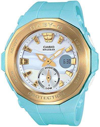 Casio GLEITEN DES BABYS G Reihe von Strand Glamping BGA 220G 2AJF Frauenbewachung