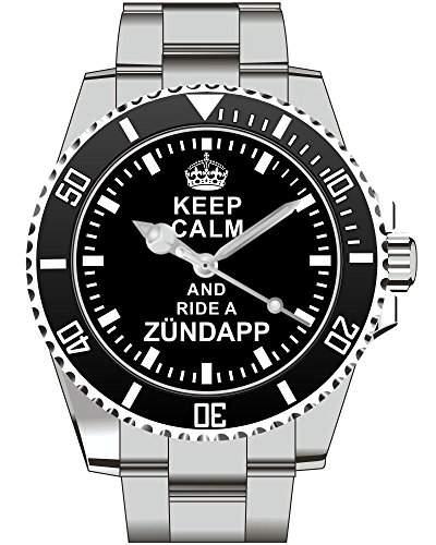 Uhr 1622 - Keep calm and ride a Zuendapp GTS 50 KS 50 CS 50