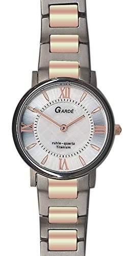 Gardé by Ruhla Damenuhr Titan bicolor rosé Elegance 7973-11