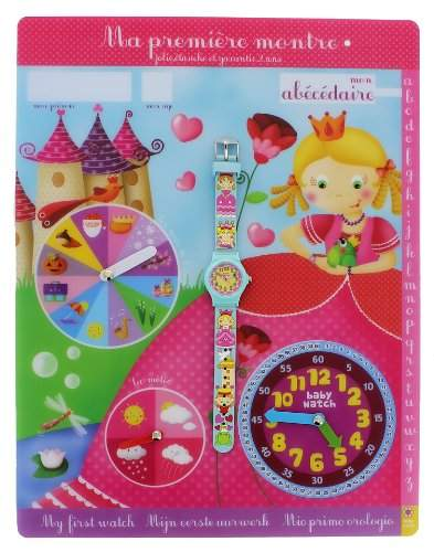 Baby Watch Kinder-Armbanduhr Abc Petite Reine Quarz Blau Abc Petite Reine
