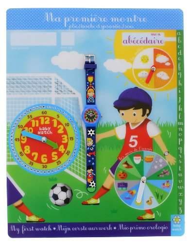 Baby Watch Kinder-Armbanduhr Abc Soccer Quarz Blau Abc Soccer