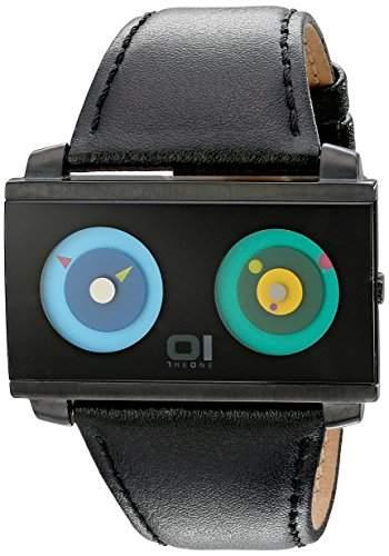 Binary The One Unisex-Armbanduhr Spinning Wheel AN05G03