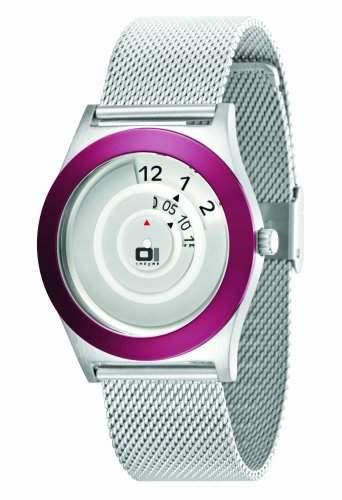 The One Unisex-Armbanduhr Analog Edelstahl silber AN06G07