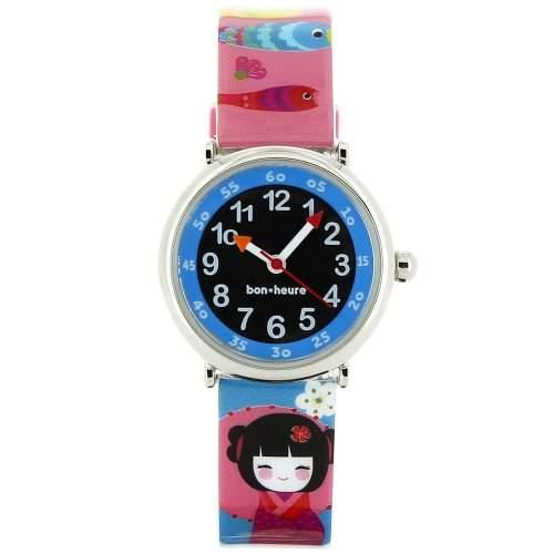Baby Watch Kinder-Armbanduhr Analog Quarz Mehrfarbig Coffret Doll