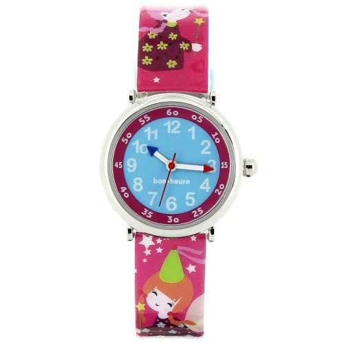 Baby Watch Kinder-Armbanduhr Analog Quarz Mehrfarbig Coffret Féerique